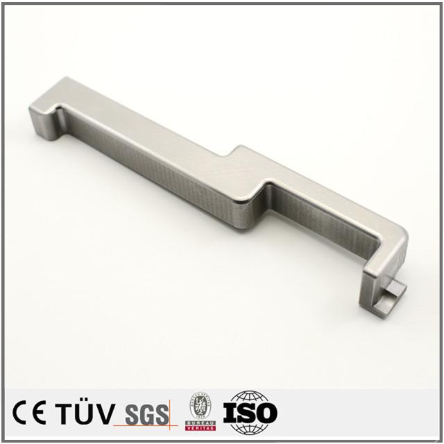 非標準状態の図面を精密加工、NC旋盤加工、ステンレス材質の高品質金属機械部品