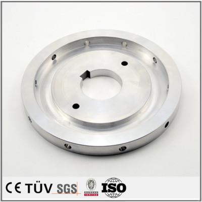 アルミ材質金属機械部品、通信機、専用機などの高精密部品
