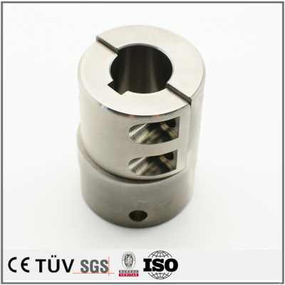 ステンレス金属部品、大連で単品からロッドまで精密加工