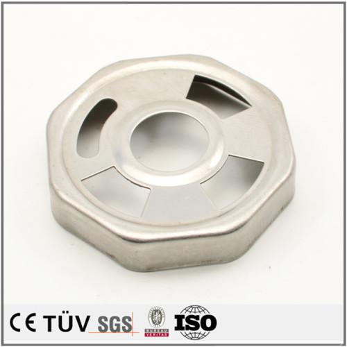 金属板金精密加工、アルマイト処理、研磨処理、バフ処理などの高品質機械設備