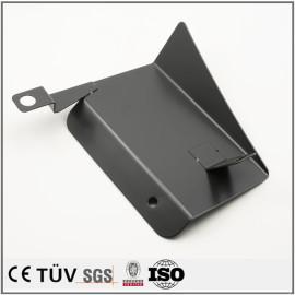 精密板金加工、黒染めなど表面処理の金属機械部品