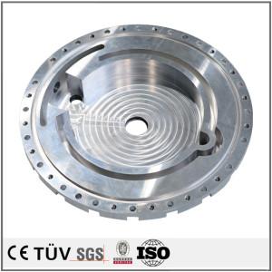 大型設備用アルミ金属機械部品、高品質金属パーツ
