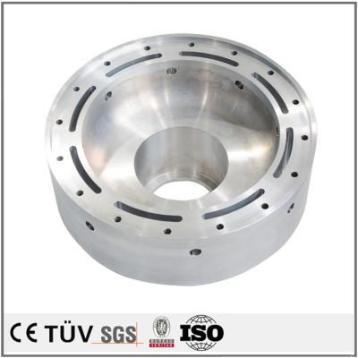 筒状アルミ金属部品、NC旋盤加工、フライス盤加工などの高品質金属パーツ