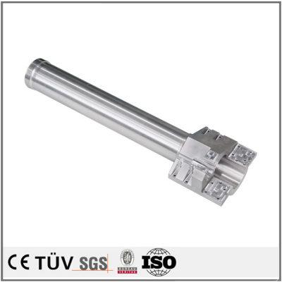 五軸複合機精密加工、ワイヤカード、フライス盤加工などのアルミ金属機械部品