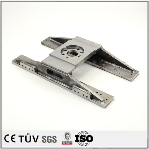 溶接部品加工、金属機械溶接、バフ研磨処理などの工業用の機械パーツ