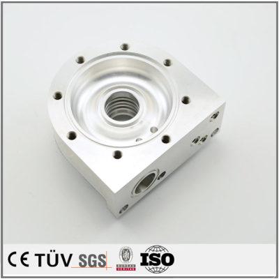 五軸複合機精密加工、フライス盤加工などのアルミ金属機械部品