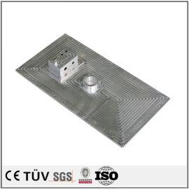 アルミ部品精密加工、ワイヤカード、表面バフ、無電解ニッケルめっき部品