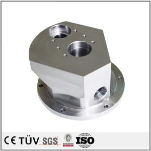 ステンレス材質、大連メーカー精密加工、バフ処理、無電解ニッケルめっき処理などの機械部品