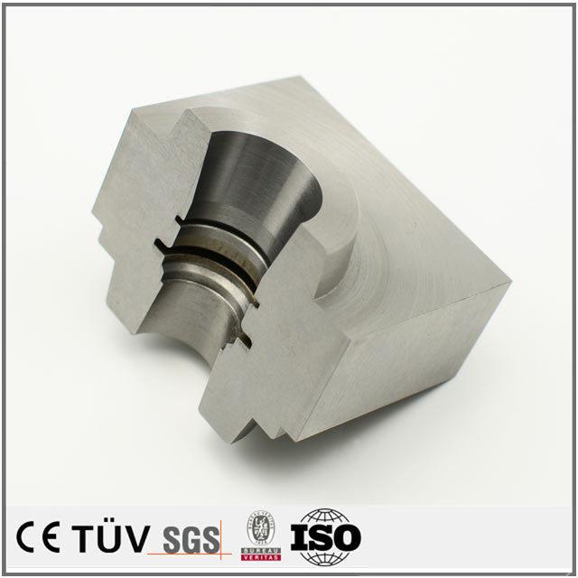 ステンレス材質、中国大連機械メーカー、高精度生産設備機械部品