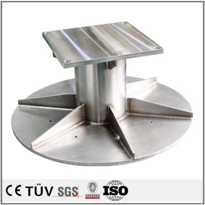 大連メーカー加工した搬送機用高精密の溶接部品