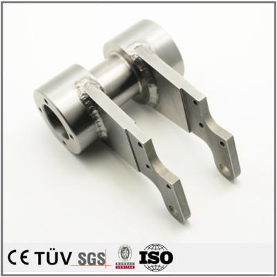 各種類金属溶接加工、表面アルマイト処理、バフ処理、高精密設備