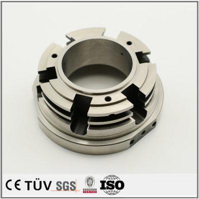 大連機加工部品製造、SUS材質、NC旋盤加工、フライス盤加工などの精密機械部品