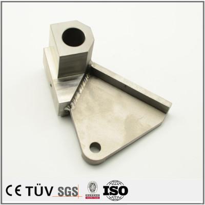 溶接組立加工、高品質金属機械部品