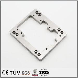 SUS S45C材質、5軸複合機加工部品、表面はバフ、研磨処理