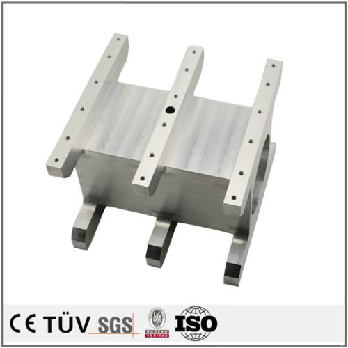 生産設備用アルミ金属部品、NC旋盤加工、フライス盤加工などの高品質金属パーツ