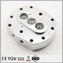 穴あけ研磨加工、A5052金属機械部品、自動化設備用の精密金属パーツ