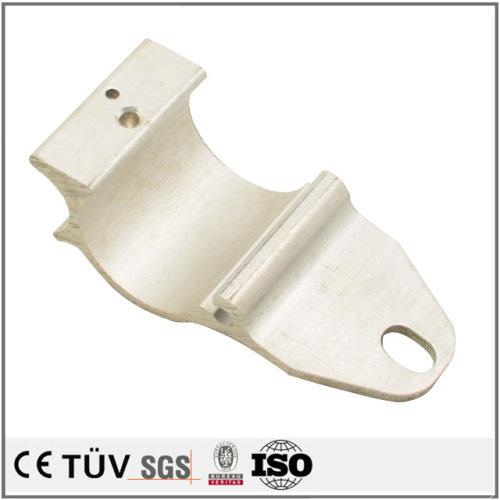 白アルマイト処理した板金金属機械加工
