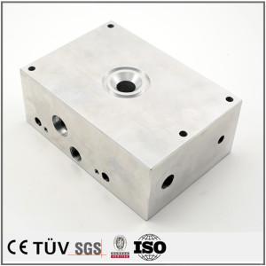 5軸複合機加工部品、アルミ材質、超精密金属機械部品