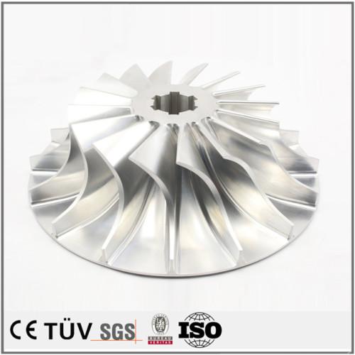 複合機と5軸旋盤加工、車羽精密加工、海外に出口した高精密金属機械部品