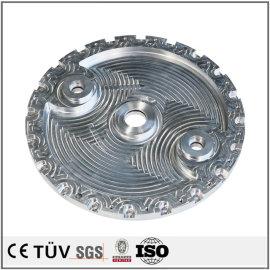 A5052A6061材質、NC旋盤加工、表面研磨バフ処理などの高本質部品