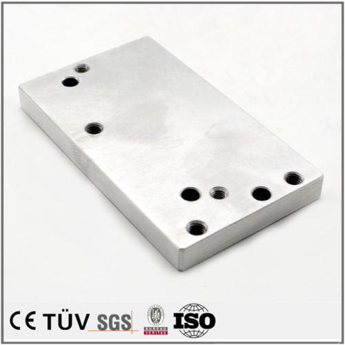 アルミ板精密加工、表面研磨バフ処理、品質溶接したの高精密設備