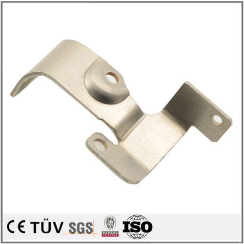 精美板金加工、表面バフ、無電解ニッケルめっき処理などの高品質部品