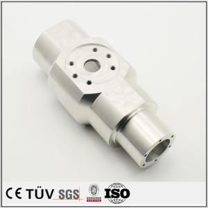品質金属材質加工、白アルマイト、熱処理などの高精密金属機械部品
