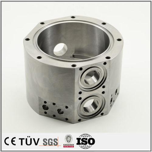 単品からロットまで製作品、穴を精密加工、研磨バフ処理など高品質部品