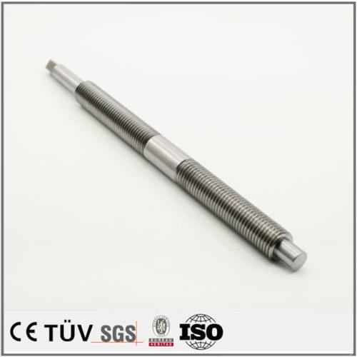 SUS304材質、マシニングセンター加工、無電解ニッケル処理、アルマイトなどの高精密設備