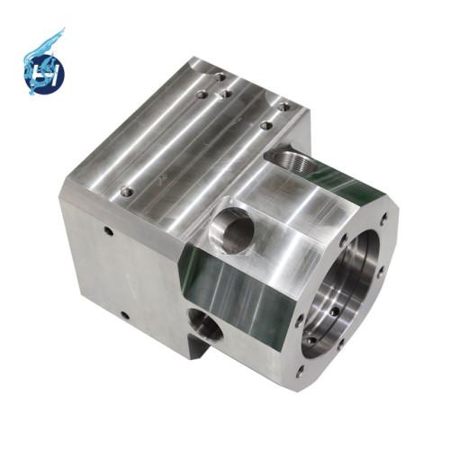 ステンレス溶接部品 小ロット 電解研磨掛け 複合加工