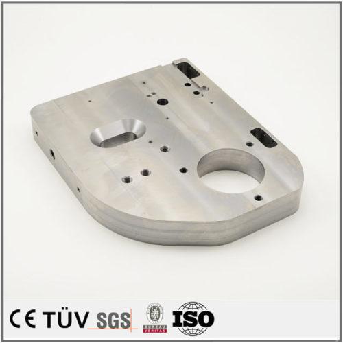 ステンレス材質、難しく図面加工、マシニングセンター加工などの高精密金属部品
