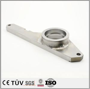 钢材机加工后焊接,汽车生产线设备用