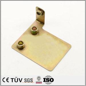 不锈钢板 折弯钣金焊接件 表面处理镀彩锌
