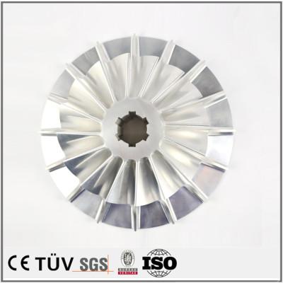 铝制品精密加工件 五轴车铣复合机加工  包装机用零部件