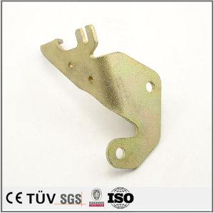 高精密钣金折弯焊接加工件 表面镀彩锌处理