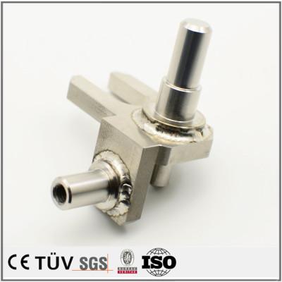SUS304材,S45C材焊接加工,压力测量仪器用配件