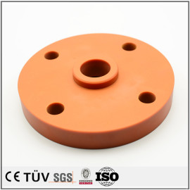 定制PEEK、PVC、POM、尼龙、有机玻璃等绝缘非金属材料加工件 五轴加工机加工产品
