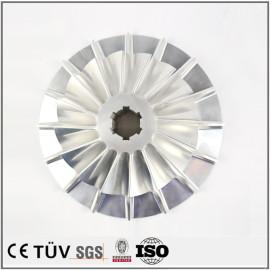 精密铝材质加工件,五轴加工中心加工叶轮 精密配件