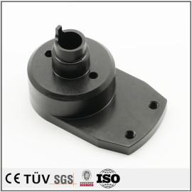 高性能黑染机械零件,铝铁材质,加工中心加工成品