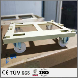 厂家定制工艺小推车 钣金焊接折弯工艺 专业钣金厂加工件