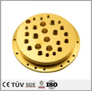 高精密镀钛部品,钻孔沉孔精加工,用于食品加工器配件