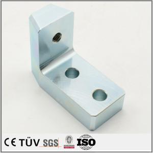 镀蓝白锌精密部品,具有防腐性,耐用美观为一体的金属零件