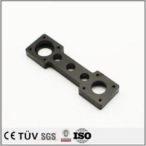 铝材质,镀黑锌特殊工艺表面处理,适用于家用工具机械零部件