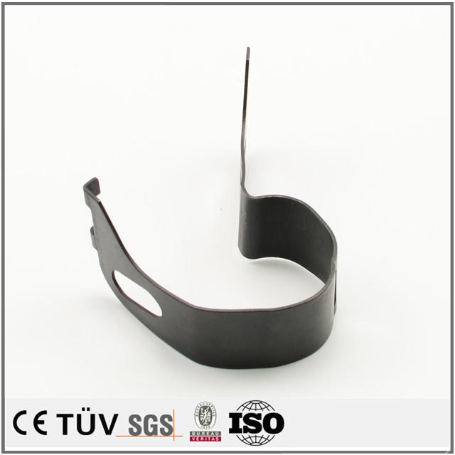 薄板类 钣金折弯零部件 表面处理黑染 汽车配件