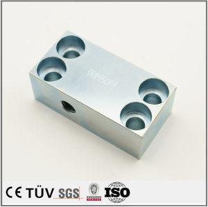 大连工厂专业镀蓝白锌工艺,不锈钢材质,调质精密加工