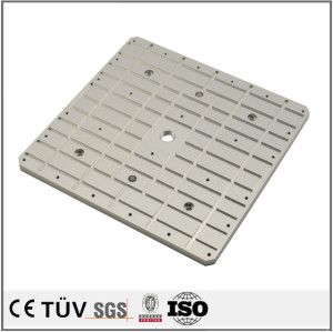 不锈钢材质加工件 五轴加工机一体加工件  本色阳极氧化处理