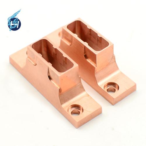 純銅材部品加工 マシニングセンター 精密切削加工