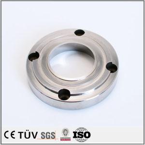 铝材质精密加工部品,研磨抛光,白色阳极氧化等五金机械用品