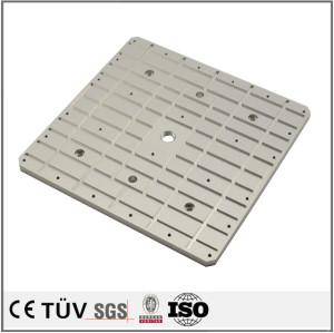 密板精密加工,本色阳极氧化处理,高精密铝制品金属零部件