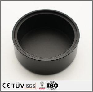 黑色阳极氧化金属机械部品,无毛刺,无飞边,高品质零部件